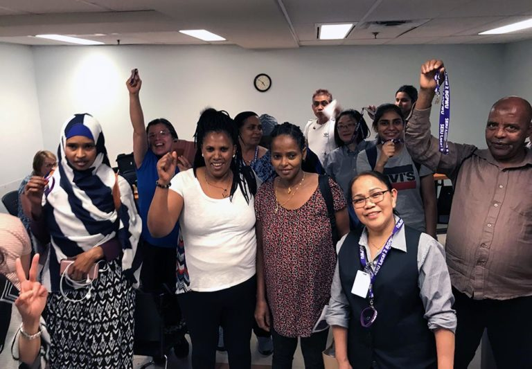 Unionized Janitors' Jobs now Protected When Contracts Change
