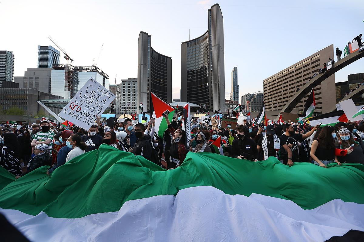 SEIU Local 2 Stands with the Palestinian People