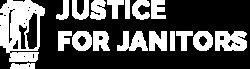 SEIU Local 2 Justice for Janitors Logo